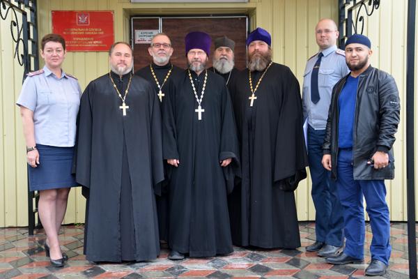 В задачи межрелигиозной группы, в частности, входит обеспечение духовной поддержки верующих, отбывающих наказание в исправительных учреждениях